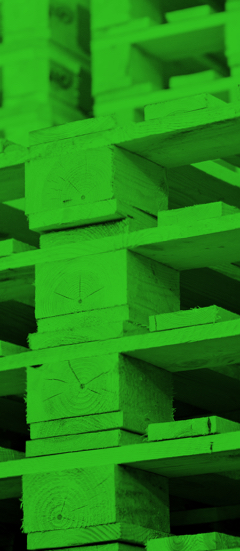Ladungsträger aus Holz